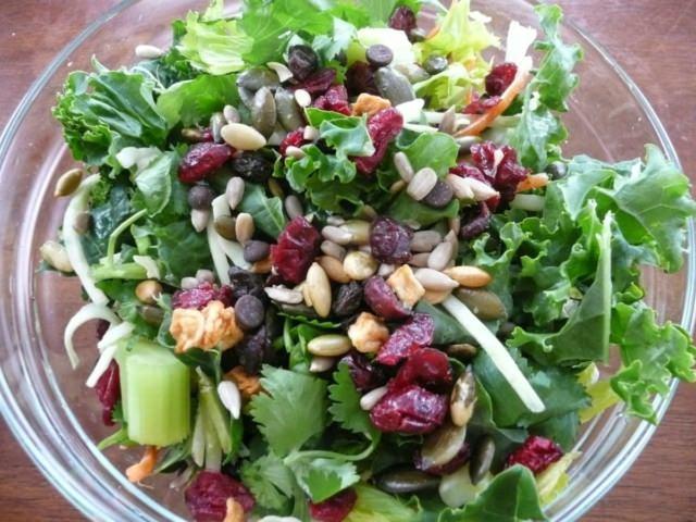 Salades - Salade de chou frisé