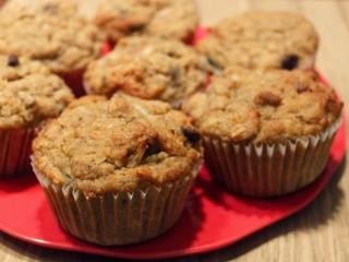 Muffins Sans Gluten - Muffins aux Bananes et Chocolat