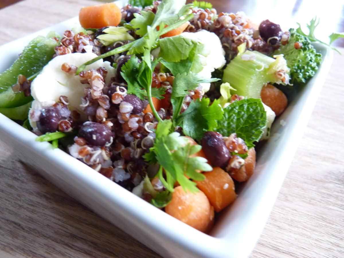 Salades - Salade de quinoa et coriandre