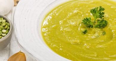 Soupe Marocaine aux Pois Verts