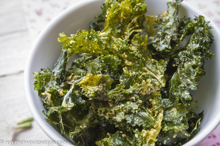 Chips de Kales (Chou Frisé)