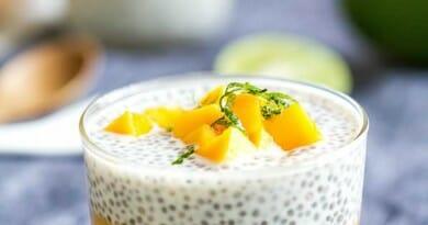 Pouding Chia à la Mangue