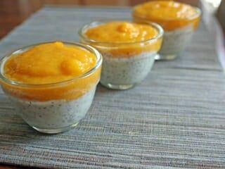 Desserts - Pouding Chia à la Mangue