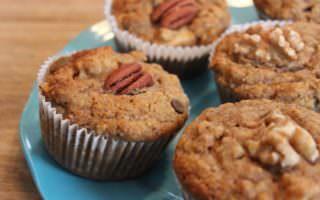 Muffins Sans Gluten - Muffins aux Dattes