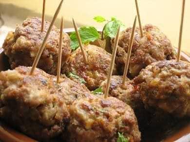 Boulettes de viande à l'ail