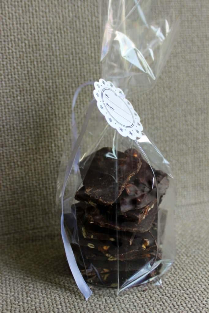 Plaquettes de chocolat