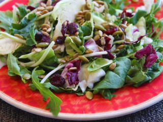 Salades - Salade chou-chou aux canneberges
