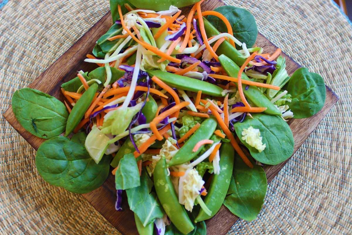 Salades - Salade sésame et gingembre