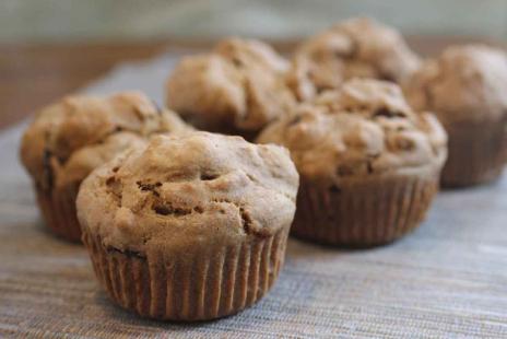 Muffins Sans Gluten - Muffins aux dattes et graines de citrouille Vegan