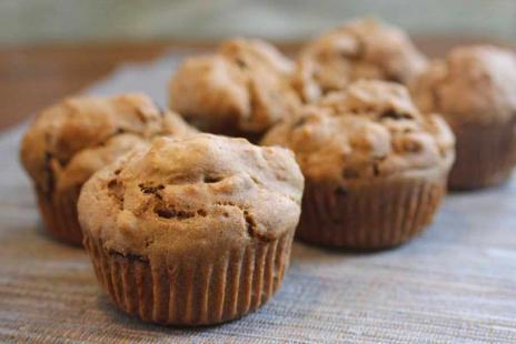 Muffins aux Dattes et Graines de Citrouille