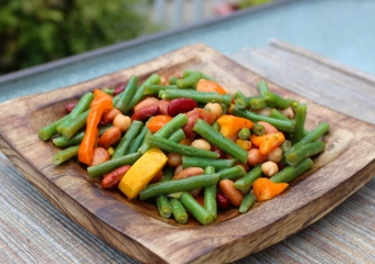 Salades - Salade haricots mélangés