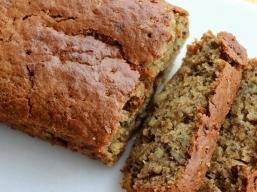 Desserts - Gâteau (Cake) aux Bananes Sans Gluten