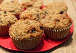 Muffins aux bananes et chocolat