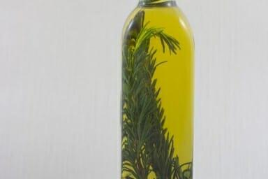 Sauces et Vinaigrettes-Huile D'olive Parfumée au Romarin