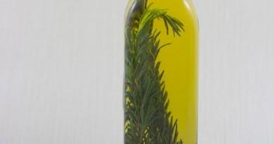 Huile D'olive Parfumée au Romarin