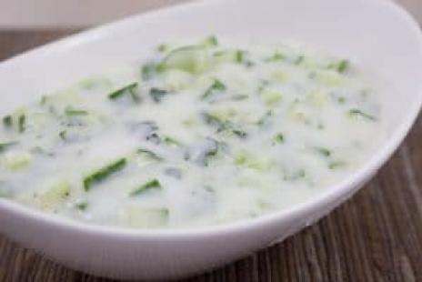 Salades - Salade de Concombre à la Menthe (Tzaziki)