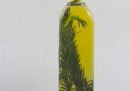Sauces et Vinaigrettes- Huile D'olive Parfumée au Romarin