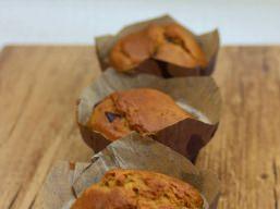 Muffins Géants au Chocolat Sans Gluten