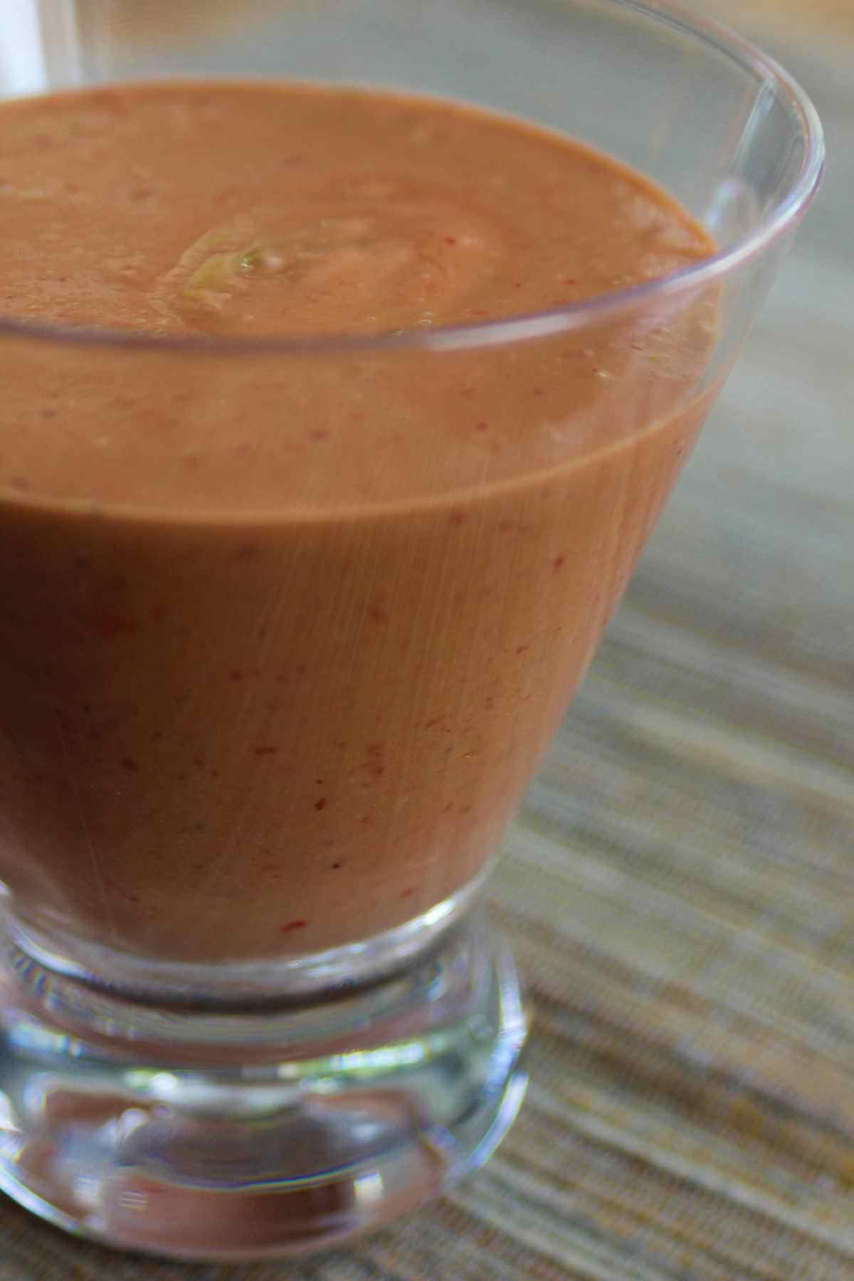Sauces et Vinaigrettes- Vinaigrette crémeuse aux fraises