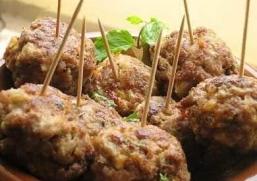 Plats Principaux - Boulettes de Viande à L'ail
