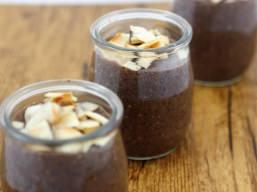 Desserts - Pouding Chia au Chocolat