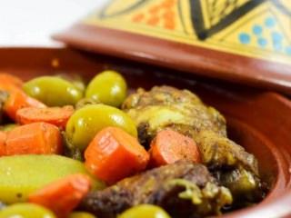 Plats Principaux - Poulet au Citron et Olives