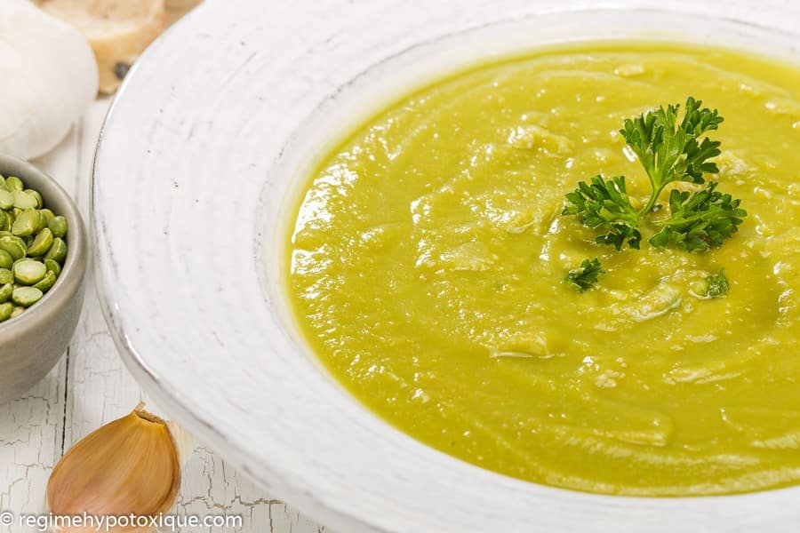 Soupes - Soupe Marocaine aux Pois Verts