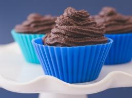 Desserts - Cupcakes au Chocolat