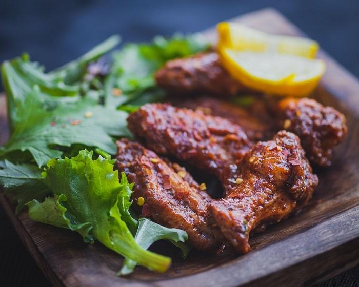Ailes de Poulet au Four Sans Gluten