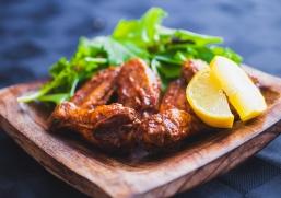 Plats Principaux - Ailes de Poulet Sans Gluten au Four