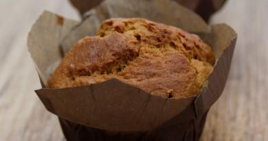 Muffins aux Bananes et à la Noix de Coco Sans Gluten