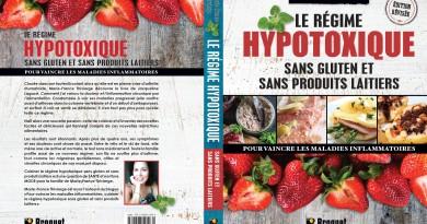 Livre de recettes Le Régime Hypotoxique Sans Gluten et Sans Produits Laitiers