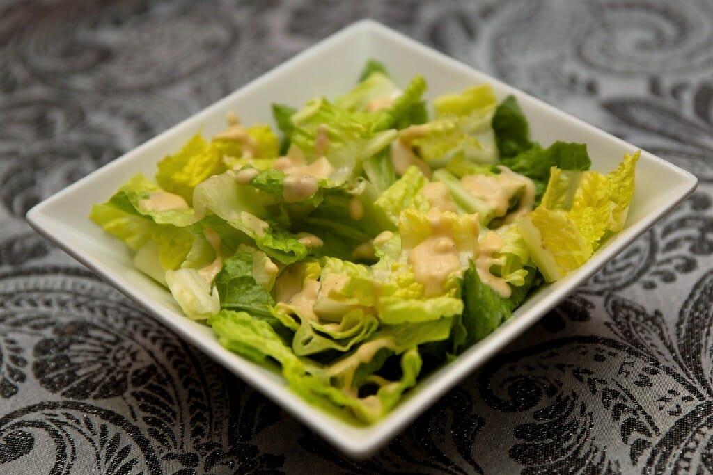 Salade César Crémeuse Sans Produits Laitiers