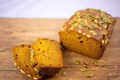 Desserts & Boulangerie - Gâteau (Cake) à la courge sans gluten