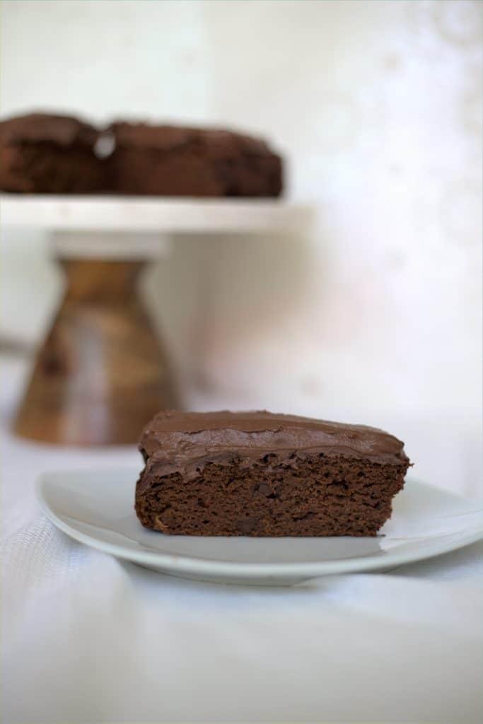 Gâteau au Chocolat Sans Gluten et Sans Produits Laitiers