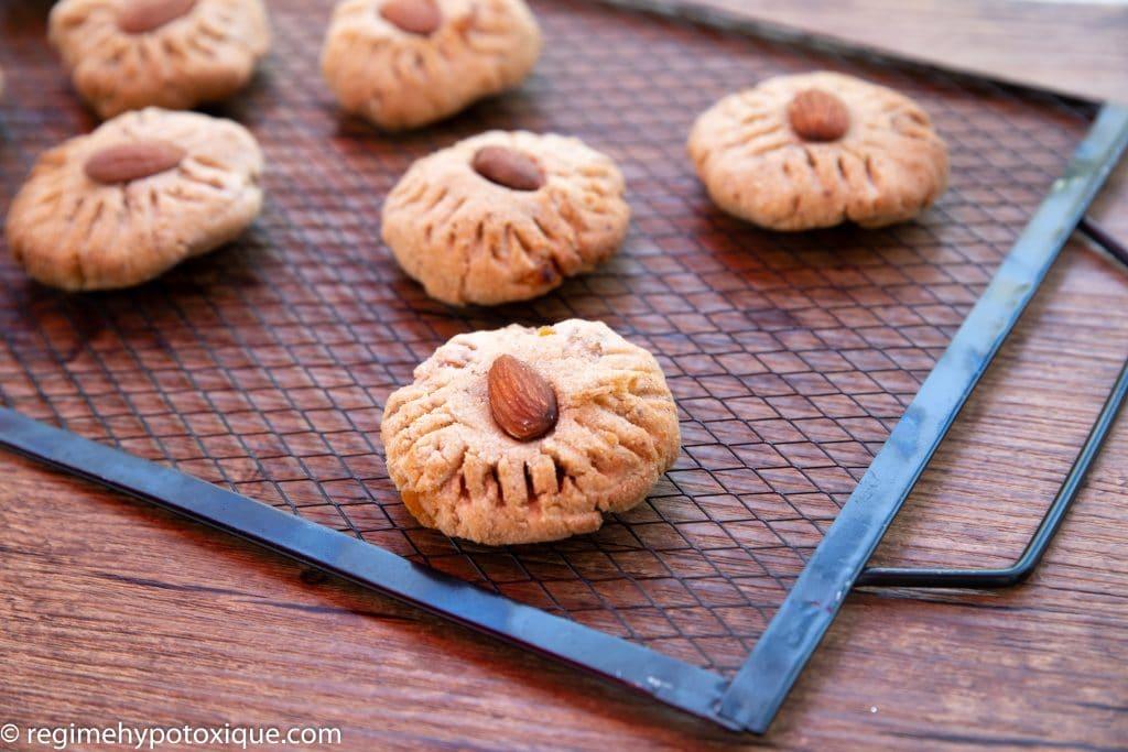 Biscuits à la fleur d'oranger sans gluten et sans produits laitiers