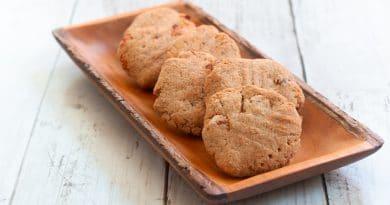 Biscuits aux Abricots et Amande sans gluten et sans produits laitiers