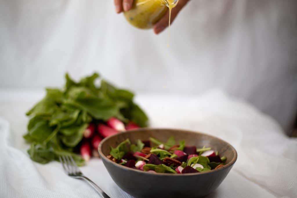 Salade de Betteraves-Roquette