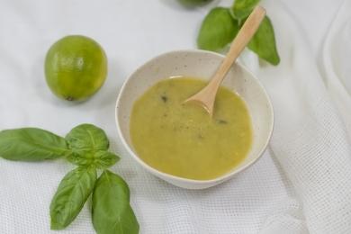Sauces et Vinaigrettes - Vinaigrette Lime et Basilic