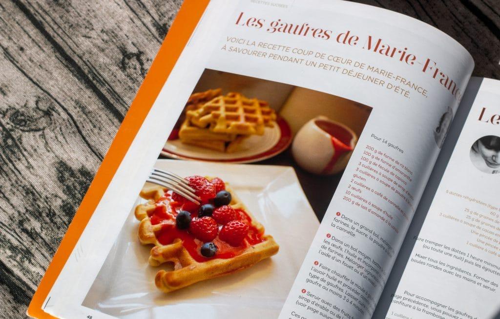 Niépi Magazine - Gaufres à la Cannelle