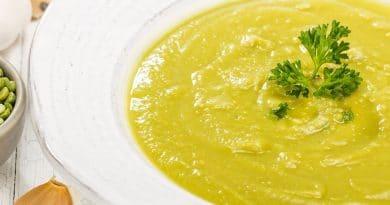 Soupes et Potages Sans Gluten et Sans Produits Laitiers